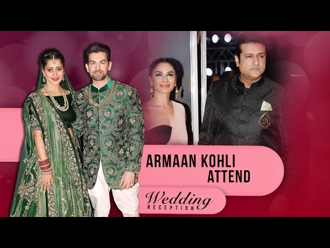 Armaan Kohli At Neil Nitin Mukesh & Rukmini Sahay Wedding Reception