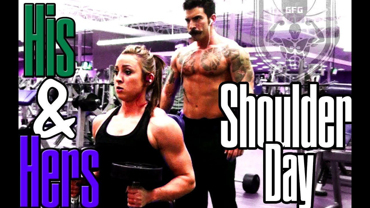 his and hers shoulder workout