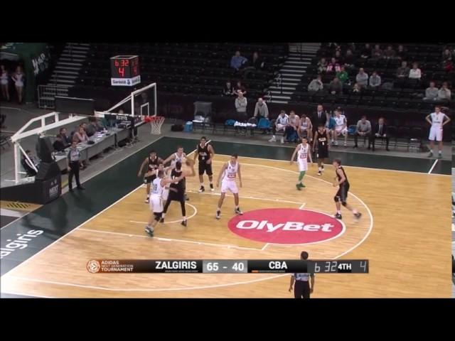 Canarias Basketball Academy | Highlights Danilo Brnovic