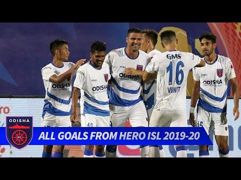 All of Odisha FC's goals from Hero ISL 2019-20