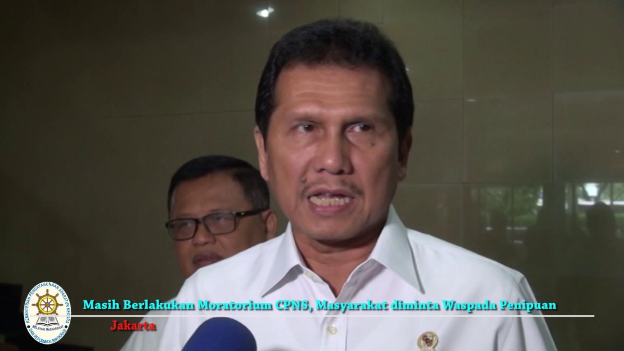 Masih Berlakukan Moratorium CPNS, Masyarakat diminta Waspada Penipuan