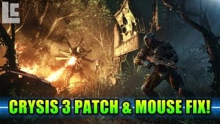 Crysis 3 Beta Patch & Mouse Fix (Crysis 3 Gameplay/Commentary)