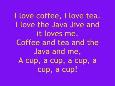 Java Jive ze słowami  with lyrics