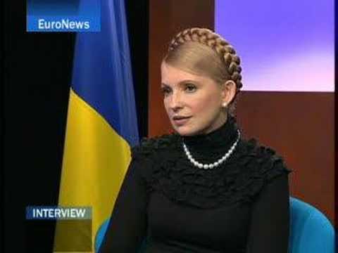 EuroNews - Interview - Yulia Timochenko