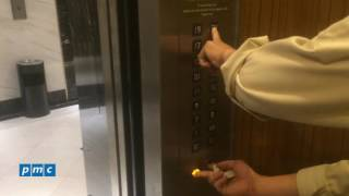 Giới thiệu thao tác khóa thang máy bằng phím