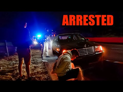 I Got Arrested and my $12,000 Exhaust Mercedes Got Impounded
