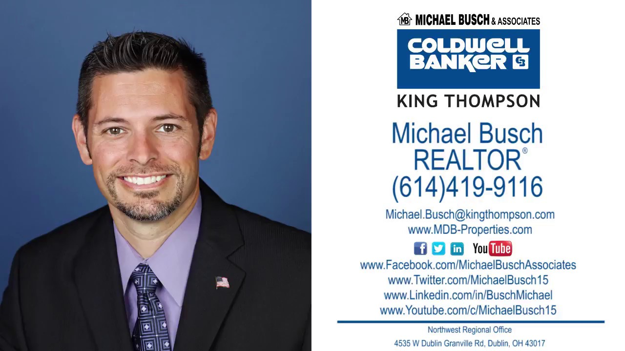 Michael Busch, Real Estate Agent - Dublin, OH - Coldwell