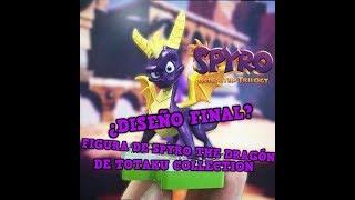 ¡Nuevo aspecto de la figura de Spyro the dragón de Totaku Collection!   ¿Diseño final?