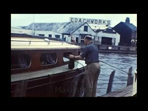The Norfolk Broads In Spring 1962 And Gt Yarmouth Pier
