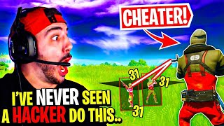 The *ULTIMATE* Fail?! While HE WAS HACKING! - Fortnite Chapter 2