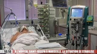 Covid-19 : à l'hôpital Saint-Joseph de Marseille, la situation se stabilise