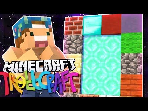 PORTAL TO THE PAST!! | Minecraft: TrollCraft