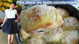 Pão Doce de Leite Condensado Super Delicioso