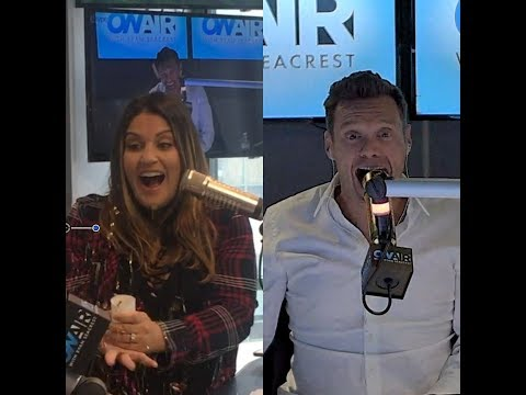 Sisanie Reveals The Genders of her TWINS!  On Air with Ryan Seacrest