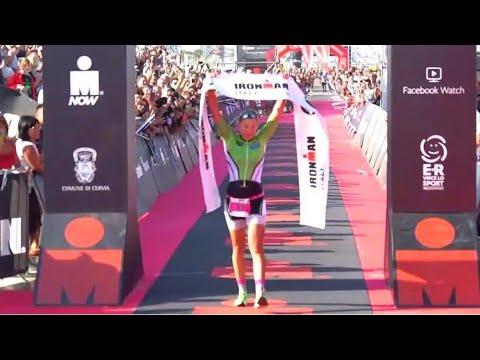 IRONMAN ITALY EMILIA-ROMAGNA 2019 WINNER CAROLIN LEHRIEDER RACE HIGHLIGHTS