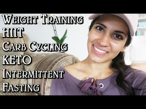 WEIGHT TRAINING, HIIT, CARB CYCLING & INTERMITTENT FASTING!  | MY FITNESS ROUTINE