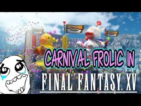 Final Fantasy XV carnival DLC news: Christmas is coming to Eos ...