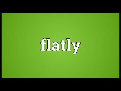 Header of flatly