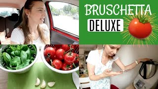 Zähne bleachen? | Mit JULE in der Küche | Bruschetta Rezept 🍅 FamilyVlog #134