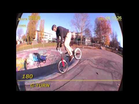 RON MERCER BMX GAME