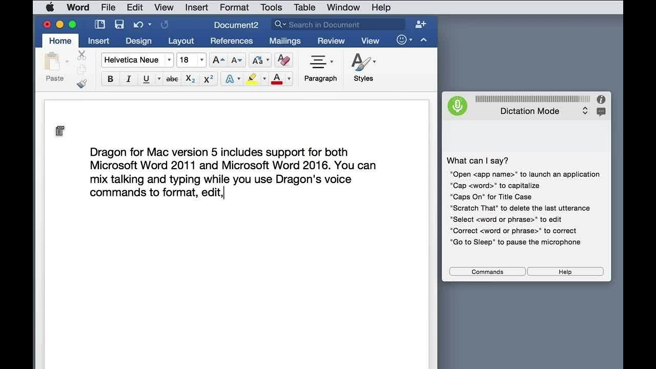 dragon for mac trial version