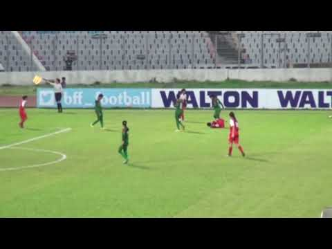Bangladesh vs Singapore  AFC U - 16 Women's Championship 2017 Qualifiers.