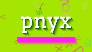 Download lagu How to saypnyx MP3