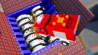 LEGO IN A BLENDER! (Brick Rigs)