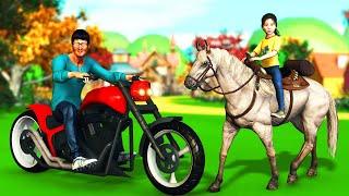 குறும்பு குதிரை தமிழ் கதை Naughty Horse Tamil Story | Tamil Moral Stories | Kokku Tv Tamil Stories