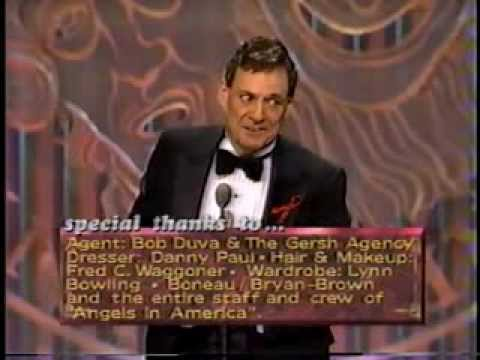 Ron Leibman wins 1993 Tony Award for Best Actor in a Play