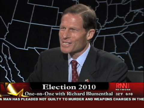 Richard French Interviews Richard Blumenthal