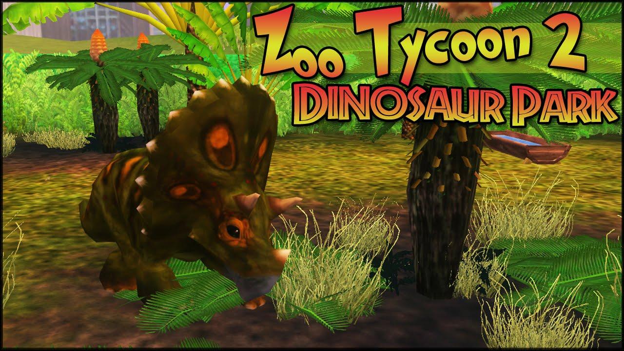 Triceratops Tikes! || Zoo Tycoon 2: Episode #3 - Dinosaur Park