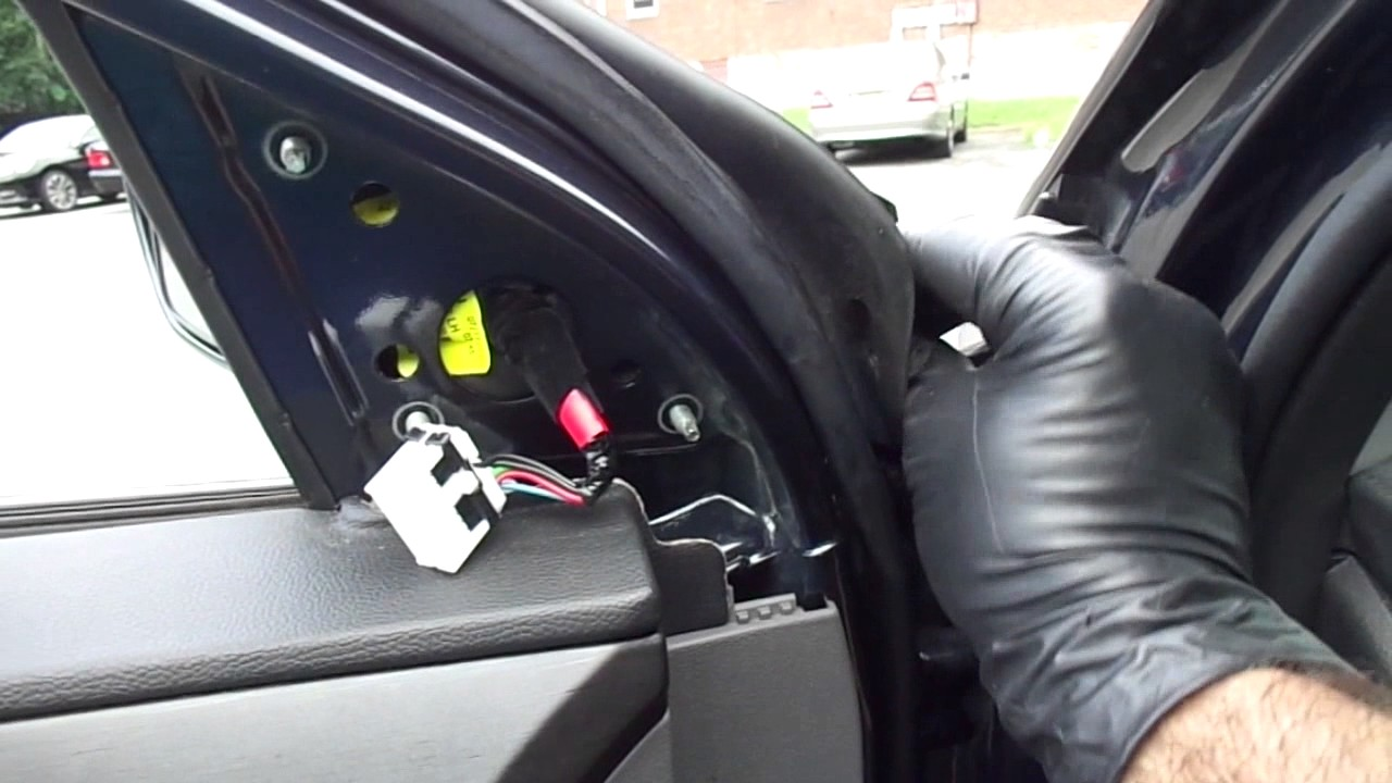 2013 Hyundai Sonata Replacing Driver Side Mirror Youtube