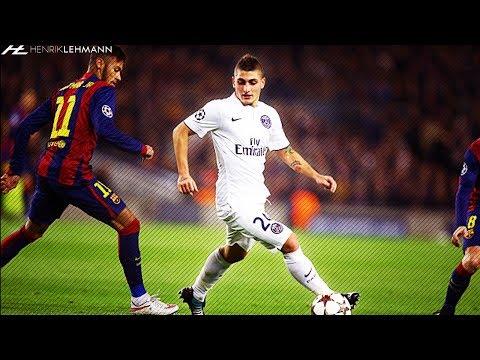 Marco Verratti ● Dominating vs Barcelona ● 2013-2017 HD