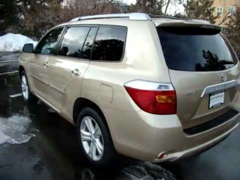 2008 Toyota Highlander Limited V6 Awd From Newcarscolorado