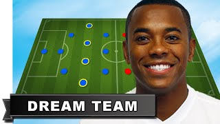 Robinho has picked his Dream Team [All Time Best XI]