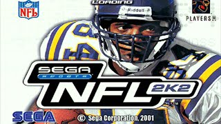 NFL 2K COVER ATHLETES THROUGH THE YEARS (PS2 COVER) 2K2 - 2K5