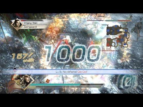 Dynasty Warriors 6 - Lu Bu Musou Mode - Chaos Difficulty - Battle of Hu Lao Gate