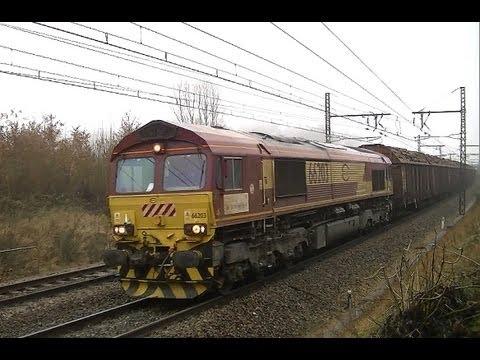 Trains de marchandises (Février 2013)