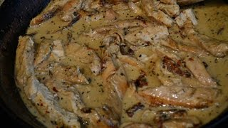 How to make Chicken with Sun Dried tomato Cream Sauce
