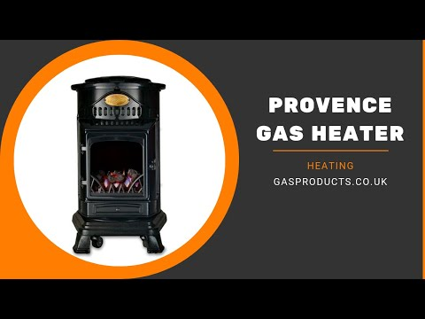 Superior Provence Indoor Portable Gas Heater   5 Colours!
