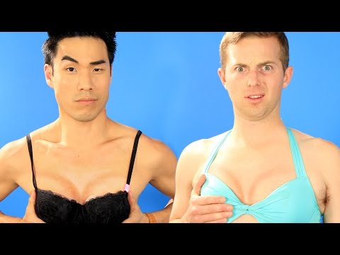 Thumbnail: The Try Guys Try Boob Contouring