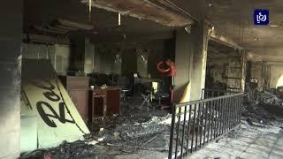غرفة تجارة عمان تقدر الخسائر الأولية لحريق سوق الروضة بمليون دينار - (12-7-2019)