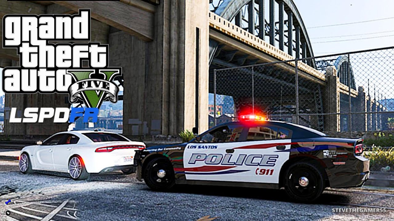 GTA 5 LSPDFR 0.3 - EPiSODE 16 - LET'S BE COPS - CITY PATROL (GTA 5 PC POLICE)