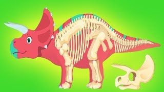 Play With Dinosaurs - Fun Jurassic Dig - Kids Learn About Dinosaurs