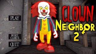 видео: КЛОУН ПЕННИВАЙЗ ВЫЖИЛ СОСЕД ГРЕННИ - Clown Neighbor 2 Granny Escape