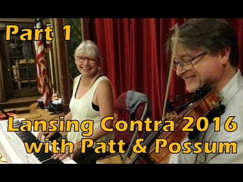 Lansing Contra Dance With Patt & Possum - Part 1
