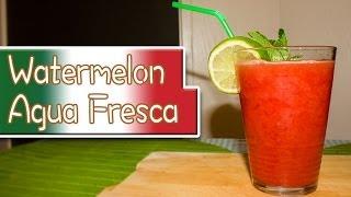 Watermelon Agua Fresca [zonder Alcohol]
