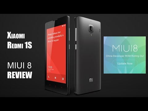 MIUI 8 on Xiaomi Redmi 1S Review