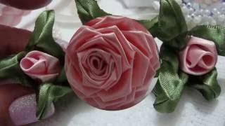 Flor de tecido – TIARAS DECORADAS lindas